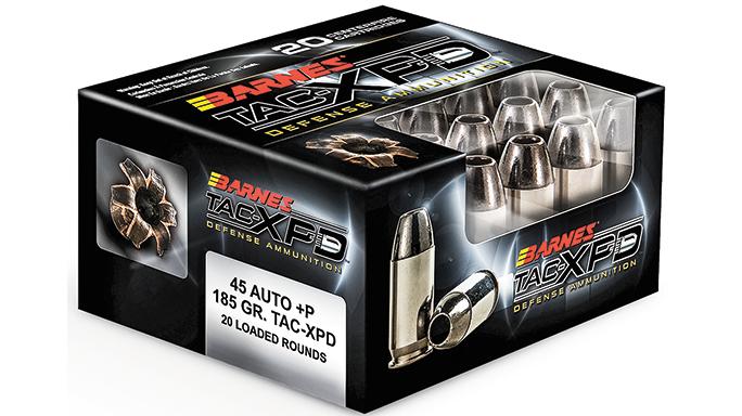 New Pistol Rounds 2016 Barnes TAC-XPD