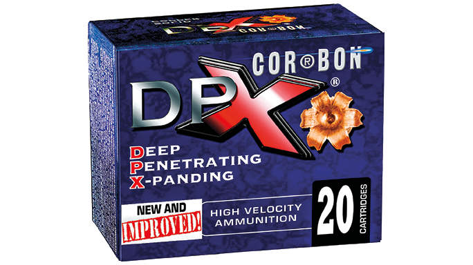 New Pistol Rounds 2016 CorBon DPX