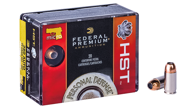 New Pistol Rounds 2016 Federal Premium HST