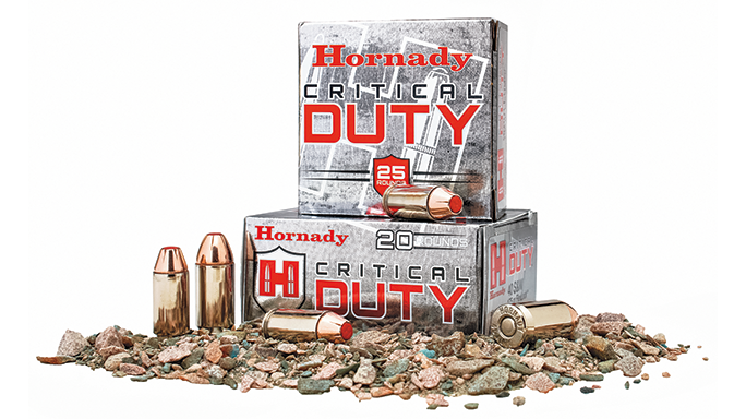 New Pistol Rounds 2016 Hornady Critical Duty