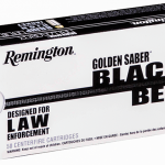 New Pistol Rounds 2016 Remington Golden Saber Black Belt