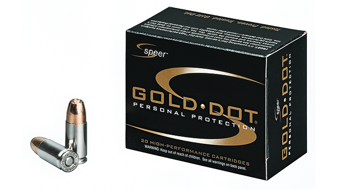 New Pistol Rounds 2016 Speer Gold Dot