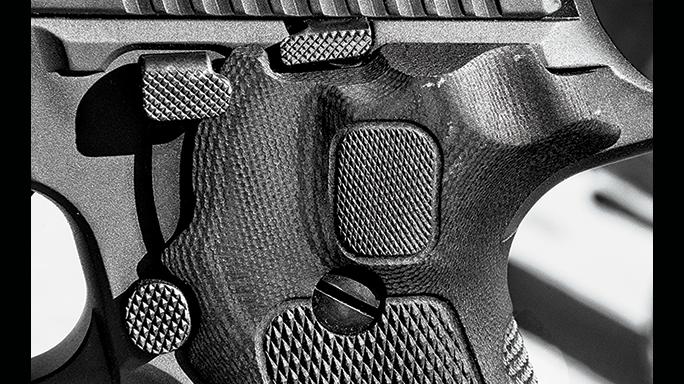 Sig Sauer Legion Series Pistol test controls