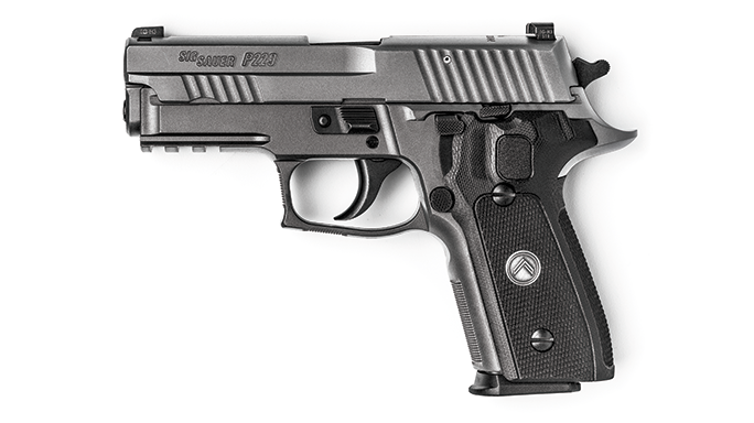 Sig Sauer Legion Series Pistol test left