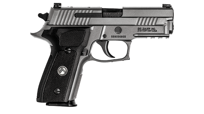 Sig Sauer Legion Series Pistol test right