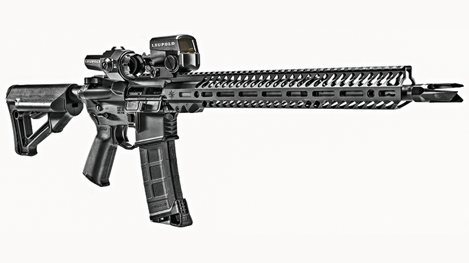 Seekins Precision's SP15 Forged NOXs Rifle solo