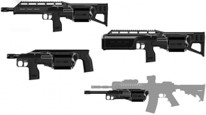 SIX12: Crye Pecision's Next-Gen Cylinder-Fed 12-Gauge Shotgun