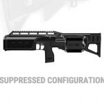 Crye Pecision SIX12 shotgun suppressed