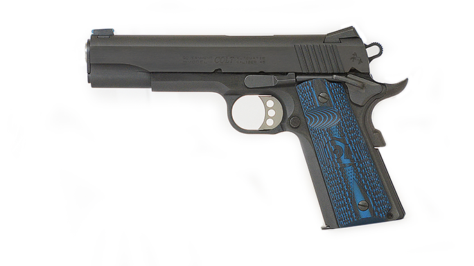 SHOT Show 2016 1911 Colt Competition Pistol