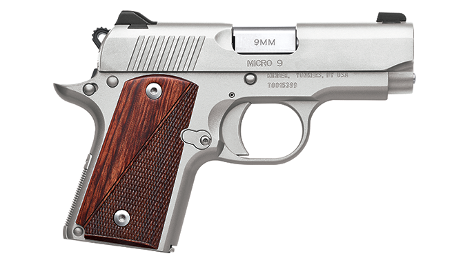 SHOT Show 2016 1911 Kimber Micro 9 Stainless