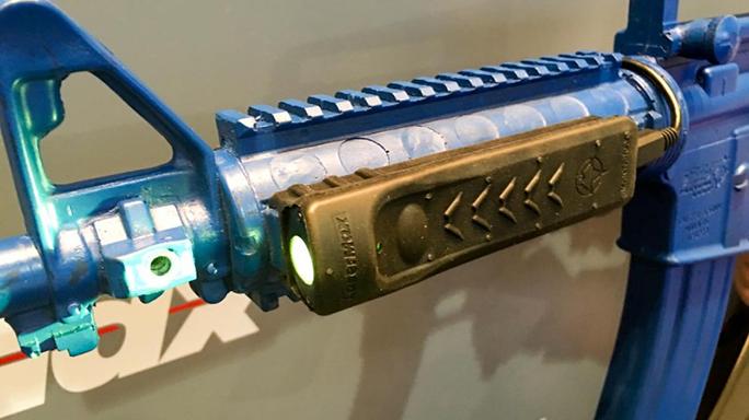 SHOT Show 2016 LaserMax Manta-Ray