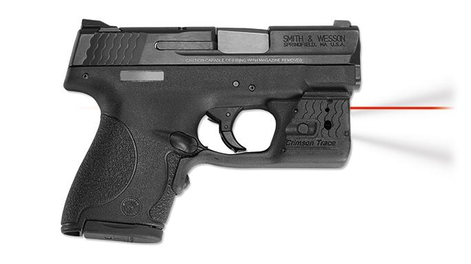 SHOT Show 2016 Crimson Trace LL-801 Laserguard Pro