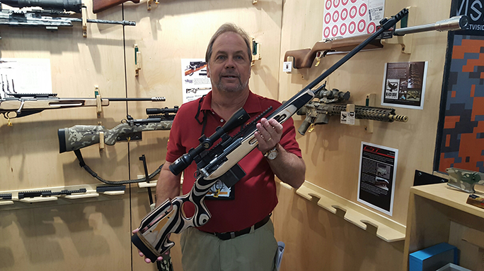 SHOT Show 2016 CST 7.5 Swiss Rifles