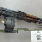 SHOT Show 2016 X-Products X-47 AK-47 Drum Magazine
