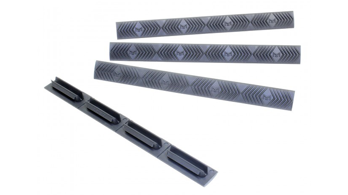 2016 AR Accessories Ergo M-LOK WedgeLok Rail Covers