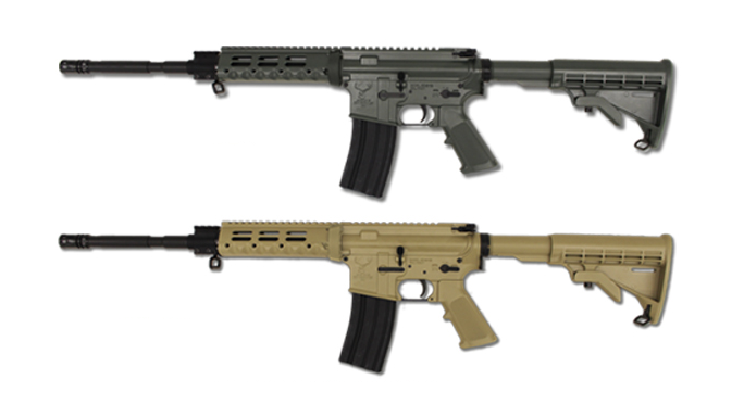 AR Rifles Pistols 2016 Stag Arms' Cerakote Options