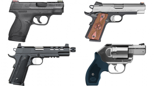 26 New Mid- To Full-Sized Handguns On the Market