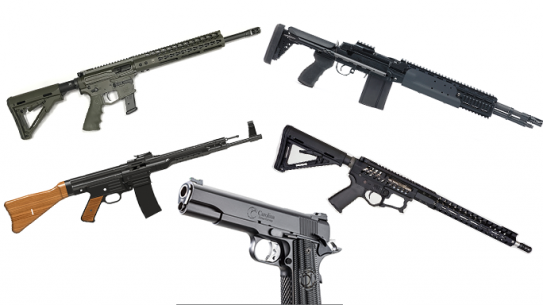 9 New Tactical Rifles and Pistols For 2016