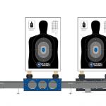 SHOT Show 2016 Tactical Training Gear Action Target Dual Running Man Pro