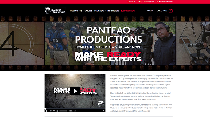 SHOT Show 2016 Tactical Training Gear Panteao Make Ready Series