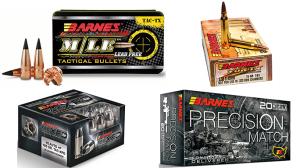 4 Types Tactical Ammo Barnes Bullets