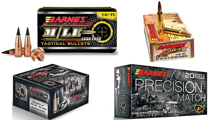 4 Types of Tactical Ammo From Barnes Bullets