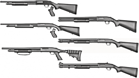 Southpaw Scatterguns 6 Left-Handed Shotguns From Mossberg