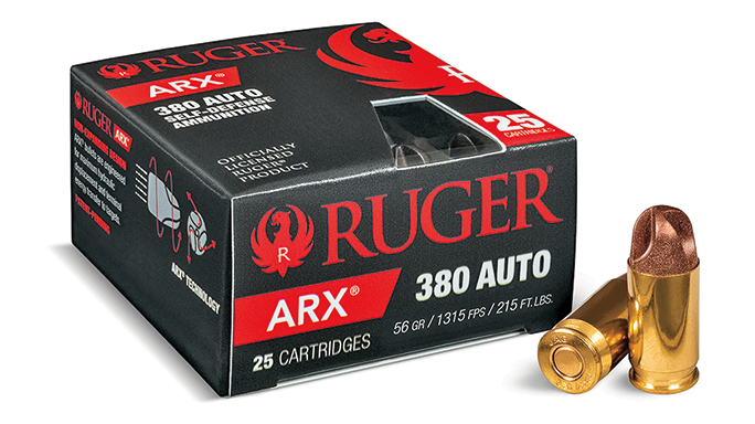 Ruger ARX Ammunition Spring 2016