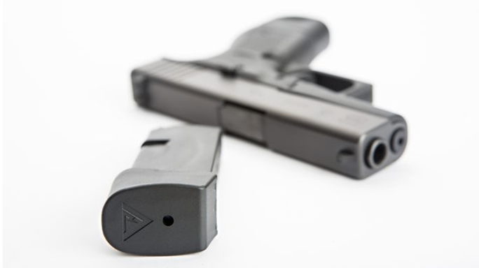 TangoDown Vickers Tactical Glock 43 +2 Magazine Extension lead