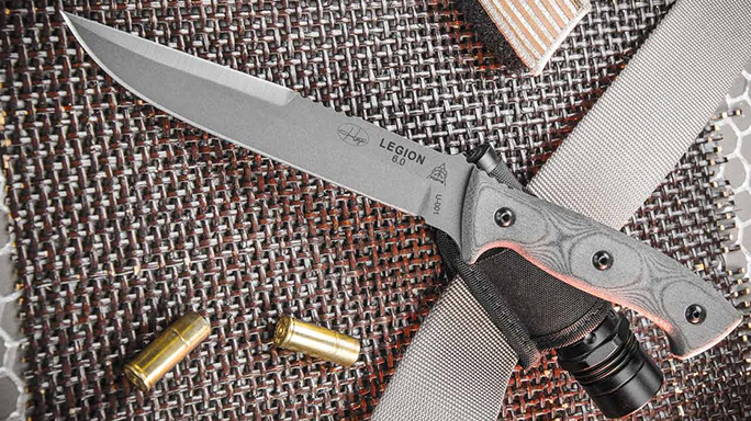 TOPS Knives Hazen Legion 6.0 lead