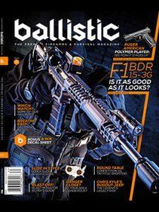 Ballistic Summer 2016 Cover
