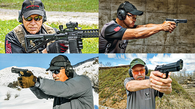 Experts Competitive Shooting Real-World Defensive Shooting