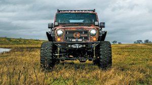 Chris Kyle Jeep Legend front