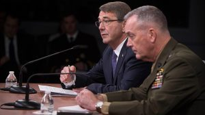 Ash Carter ISIL Cabinet 2016