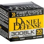 Daniel Defense First Choice 300 AAC Blackout ammo box