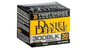 Daniel Defense First Choice 300 AAC Blackout ammo box