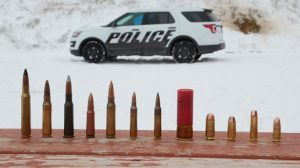 Ford Police Car Doors Armor Piercing Bullets