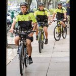 Coral Gables Bicycle Patrol street