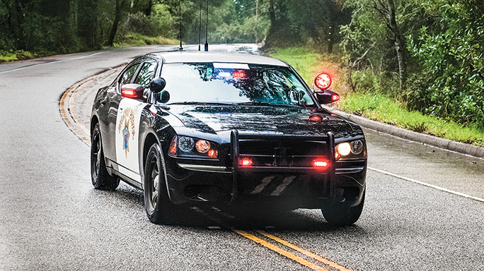 Law Enforcement Driving Tactics cruiser