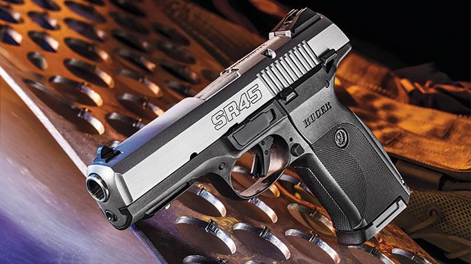 Sr45 Rugers Tough As Nails 45 Acp Pistol