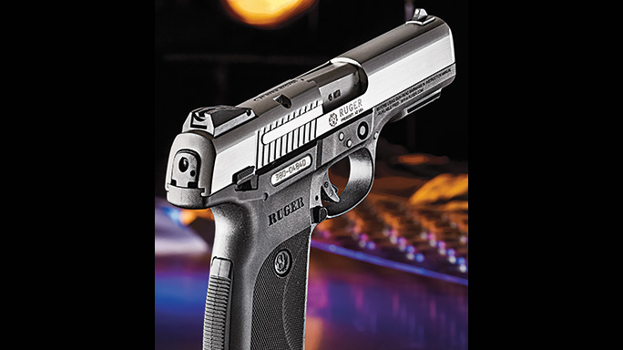 SR45: Ruger's Tough-As-Nails  45 ACP Pistol