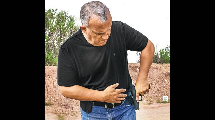 Weak Side Shooting Reload hip