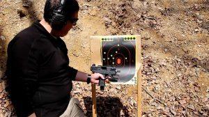 IWI Uzi Pro Pistol test fire