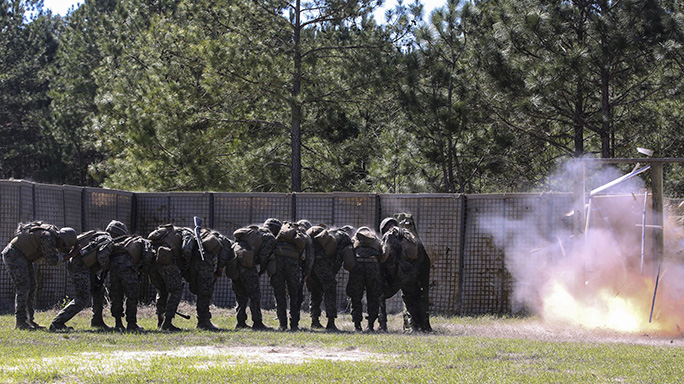 Camp Lejeune Combat Engineer Marines Best Sapper Squad