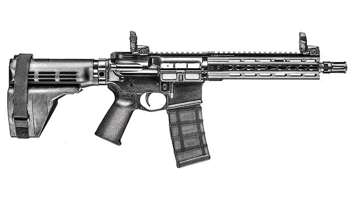 AR Pistols PWS MK109 Pistol