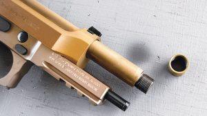Beretta M9A3 9mm pistol tactical barrel