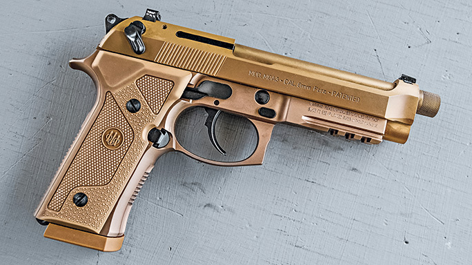 Beretta M9A3 9mm pistol tactical lead