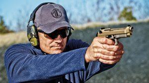 Beretta M9A3 9mm pistol tactical range