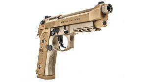 Beretta M9A3 9mm pistol tactical solo