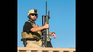 Mossberg Patriot Night Train rifle field